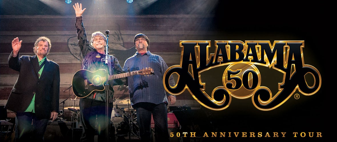 RESCHEDULED - Outback Presents: Alabama 50th Anniversary Tour
