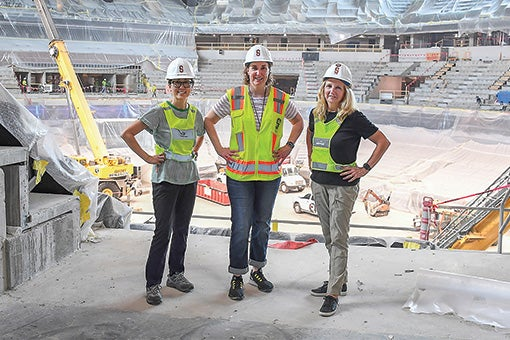 More Info for The Fieldhouse of the Future is Female