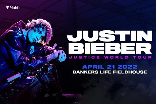 More Info for Justin Bieber Coming to Bankers Life Fieldhouse - April 21, 2021