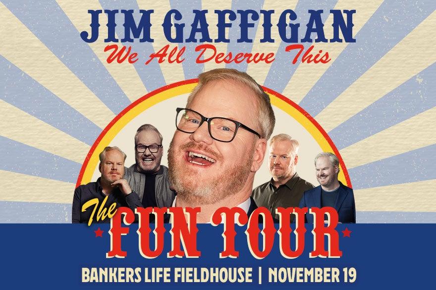 More Info for Jim Gaffigan: The Fun Tour