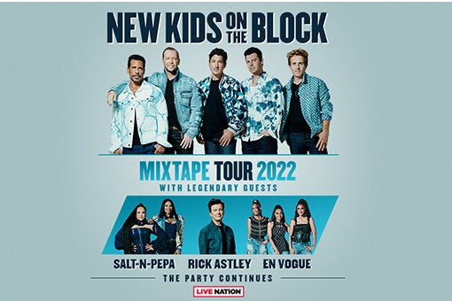 More Info for New Kids on the Block Announce the Ultimate Party with The Mixtape Tour 2022