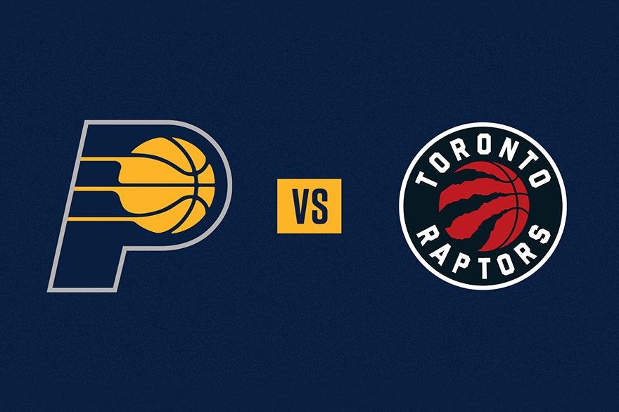 More Info for Pacers vs. Raptors