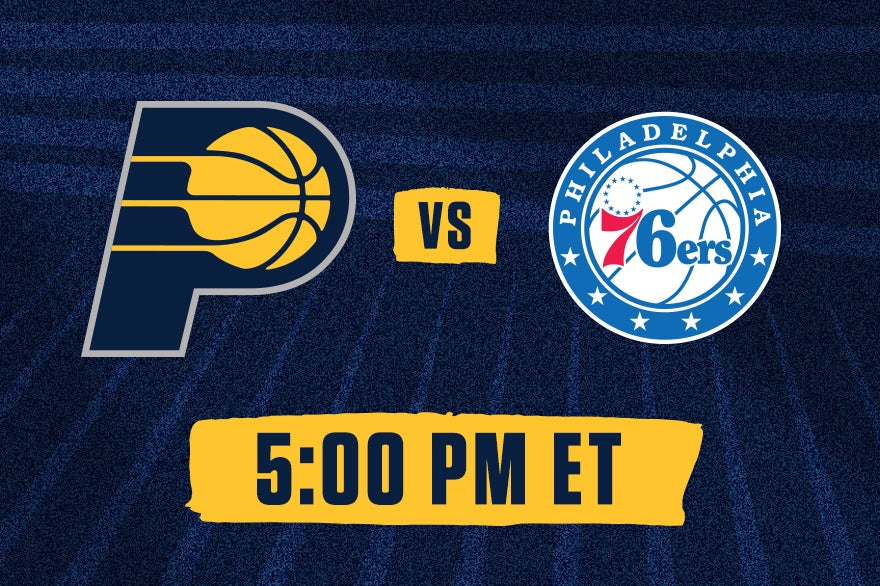 More Info for Pacers vs. 76ers