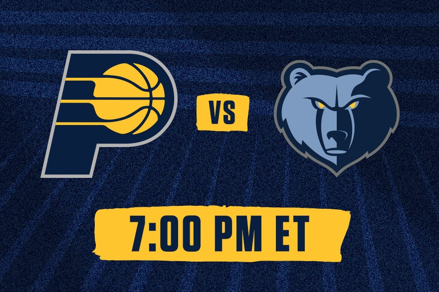 More Info for Pacers vs. Grizzlies