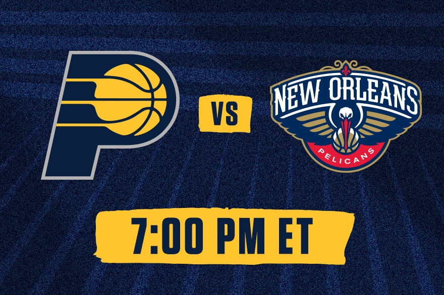 More Info for Pacers vs. Pelicans