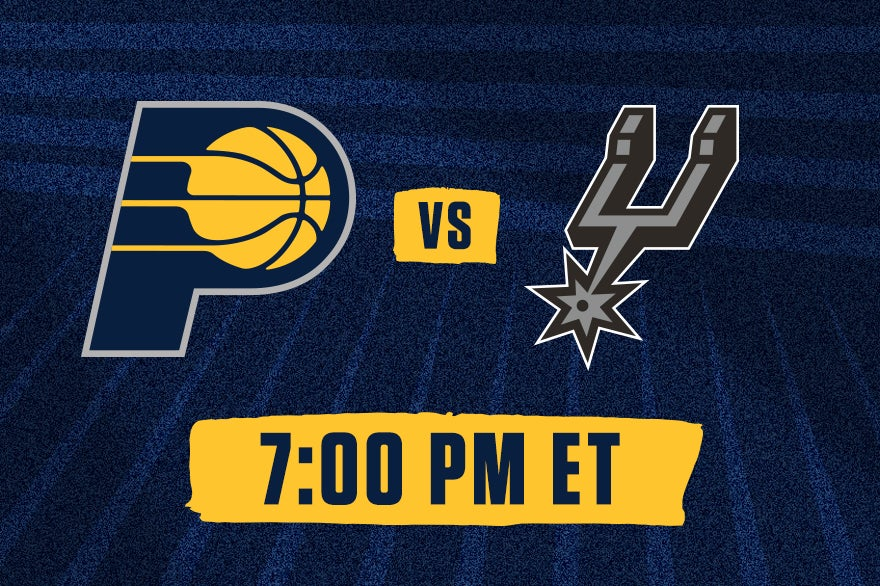 More Info for Pacers vs. Spurs