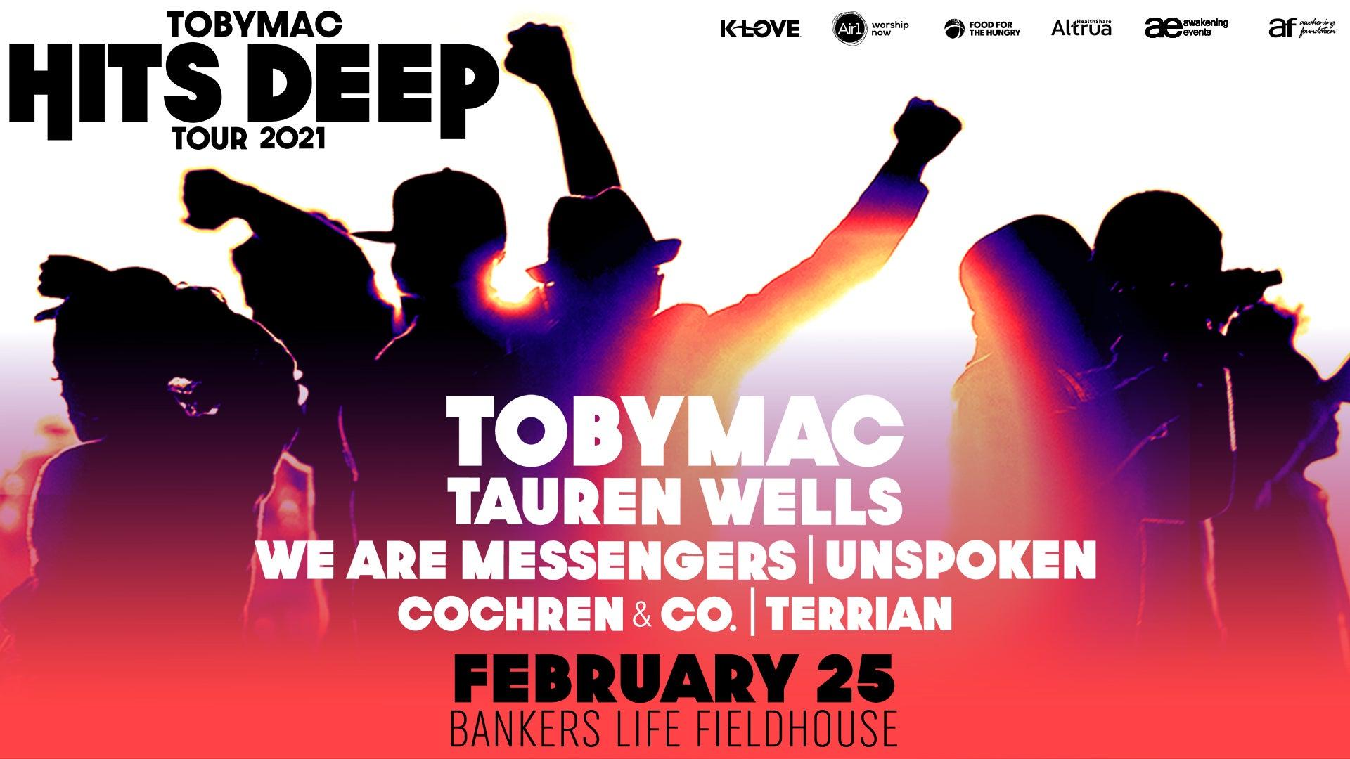 TOBYMAC Hits Deep Tour 2021