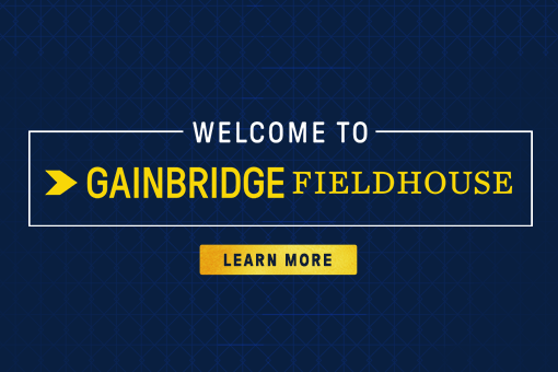 More Info for HOME OF THE INDIANA PACERS AND INDIANA FEVER RENAMED GAINBRIDGE FIELDHOUSE
