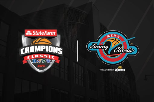 More Info for Bankers Life Fieldhouse to host Jimmy V and Champions Classic Dec. 1 & 2 Games