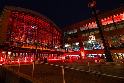 More Info for Fieldhouse Lights Up Red as Part of #RedAlertRestart