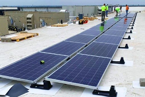 More Info for Pacers Sports & Entertainment Partnership Brings Solar Power to the St. Vincent Center
